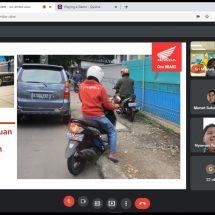 Melalui Webinar Astra Motor Bali Edukasi Safety Riding #Cari_Aman Kepada Jurnalis