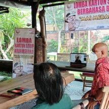 Berlangsung Saat PPKM Darurat, Lomba Kartun Strip Berbahasa Bali Dikonsep Hybrid