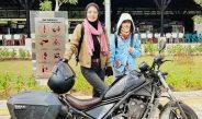 Lady Bikers Bali, Enam Hari Jajal Performa Honda Rebel Hingga Kalimantan