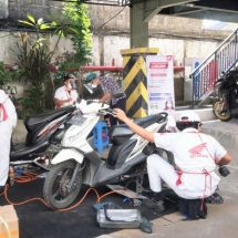 """Program """"Service Kunjung"""" Serba Hemat,Astra Motor Bali Apresiasi Tenaga Medis"""