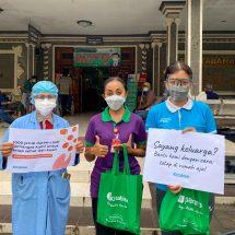 Panenpa Berikan Dukungan Kepada Tenaga Kesehatan dengan Memberdayakan Jeruk Oversupply dari Petani Lokal