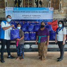FIFGROUP Salurkan 115.197 Paket Sembako Selama Pandemi Senilai Rp 23,853 Miliar