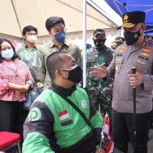 #BangkitBersama untuk Tekan Penyebaran COVID-19, Polda Metro Jaya dan Gojek Siap Sukseskan Vaksinasi Bagi 3 Juta Warga Jakarta