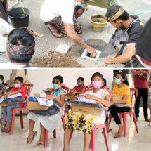 Tetap Berdaya di Tengah Pandemi, ST. Mekar Jaya Gelar Edukasi Kesehatan dan Bagikan Perlengkapan Sekolah
