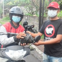 Sambut HUT Ke-76 RI, Sumara Putra Berbagi Sembako
