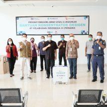 Pelindo III Salurkan Konsentrator Oksigen Untuk Sepuluh RS di Bali