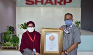 Sharp Indonesia Dianugerahi Indonesia Customer Service Quality Award 2021 (ICSQ AWARD)