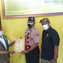 Berbagi dengan Sesama Anggota Pramuka, Kwarda Bali Serahkan Bantuan Ke Kwarcab Klungkung