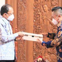 Dorong Ekspor Bali, Duta Besar RI untuk Empat Negara Temui Gubernur Koster