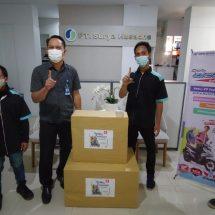 Gelaran Honda BeAT Day 2021, Komunitas BOC Bali Serahkan Bantuan APD ke RS Surya Husadha