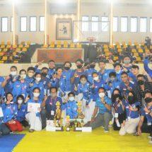 Tim Taekwondo Dinasty TNI AL Denpasar Boyong Dua Gelar Juara Umum