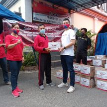 Ikatan Karyawan Astra Motor Bali Salurkan Bantuan Bencana Gempa Bali
