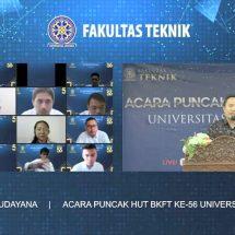 BKFT Ke-56, Rektor Unud: Laksanakan Tri Dharma Perguruan Tinggi untuk Kemajuan dan Internasionalisasi