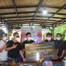 Dukung Kebangkitan Pariwisata Jembrana, Viral Blast Global Sumbang 100 Juta