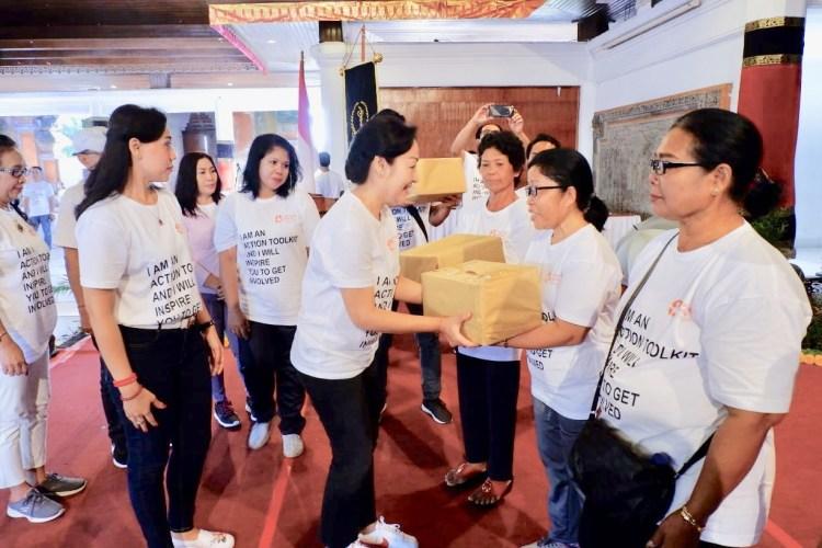 Peringatan Hari Kanker se-Dunia di Gianyar, Ajak Masyarakat Perangi Kanker