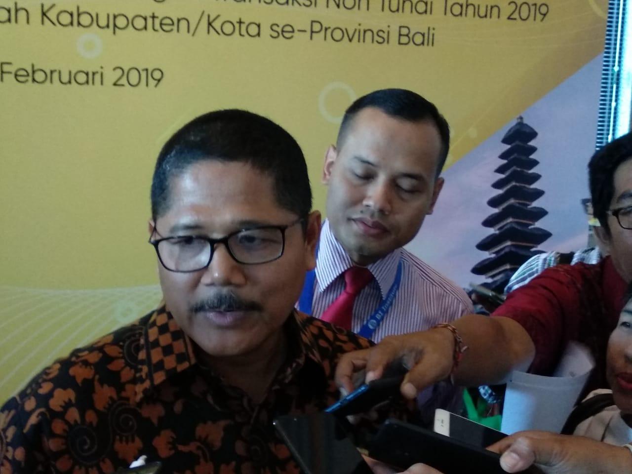 Bali Urutan Dua Transaksi Non Tunai
