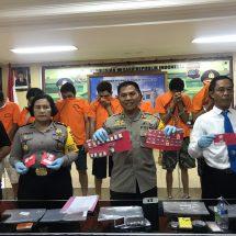 Dua Minggu Menjabat, Kepala Satresnarkoba Polres Badung Tangkap Tujuh Pelaku Narkoba