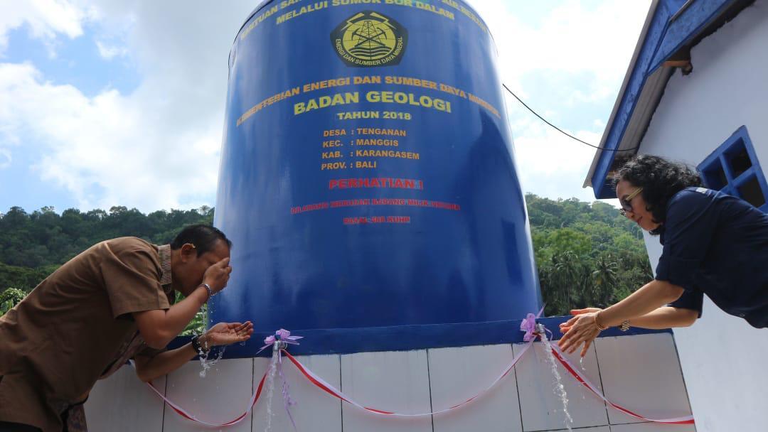 Kementerian ESDM Bangun Sumur Bor di Karangasem dan Bangli