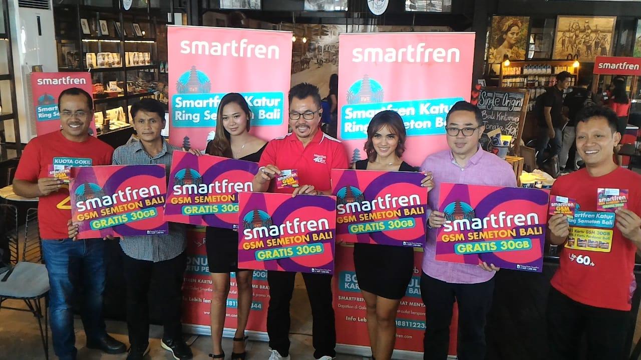 Smartfren Manjakan Masyarakat Bali dengan Paket Internet Super Murah