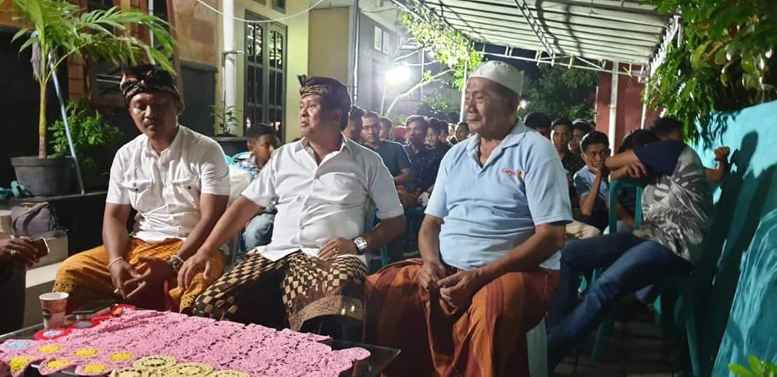 Sudikerta Hadiri Syukuran Ranting PSPS Bhakti Negara Kampung Islam Kepaon