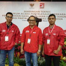 Terkait Pemilu, Tim Hukum PSI Bali Ikuti Bimtek Bersama Mahkamah Konstitusi