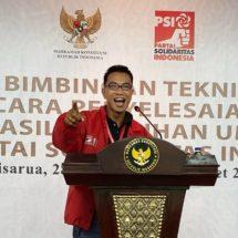 Caleg PSI I Kadek Agus Mulyawan: Pilih Caleg yang Anti Korupsi