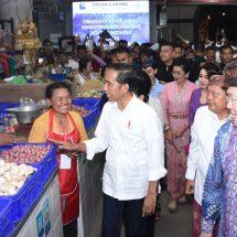 Jokowi Puji Arsitektur Pasar Badung, Sebut Yang Terbaik se-Indonesia