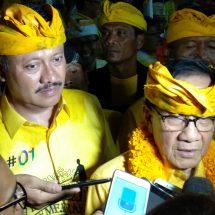 Dikunjungi Akbar Tanjung, Demer Optimis Suara Golkar di Bali Meningkat