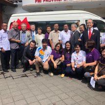 Rotary Club Bali Taman Bantu MTD ke PMI