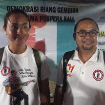 Pospera Sebarkan Vibrasi Demokrasi Riang Gembira, Tanpa Intimidasi dan Rasa Takut