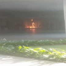 Galeri ATM Center Bandara Ngurah Rai Terbakar