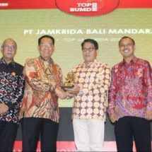 Jamkrida Bali Mandara, Lima Kali Beruntun Sabet Top BUMD