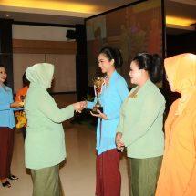 Puncak HUT ke-55, Dharma Pertiwi Daerah J Sangat Berperan Aktif Dukung Tupok TNI