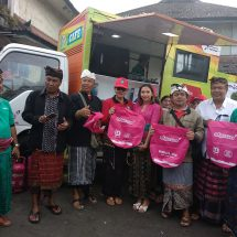 Hiswana Migas, Pertamina dan Pemprov Bali Bersihkan Sampah Plastik dan Tanam Pohon Sawo di Kintamani