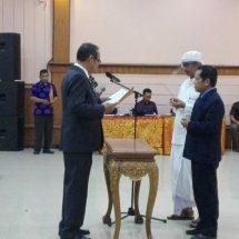 Dr. Gede Sedana,M.Sc.,M.MA. Dilantik Jadi Rektor Rektor Universitas Dwijendra, PTS tak Boleh Kalah dengan PTN