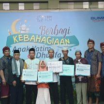 YBM PLN Berbagi Kebahagian Bersama 8.000 Anak Yatim dan Dhufa
