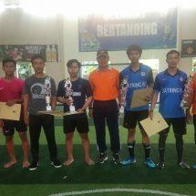 Sambut Dies Natalis dan Lustrum, FT Arsitektur Juara Futsal Dekan Cup II FISIP UNR
