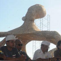 Berharap MURI, Berawa Beach Art Festival 2019 Tampilkan Gurita Raksasa