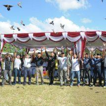 Lomba Kicau Burung Perebutkan Piala Pangdam IX/Udayana