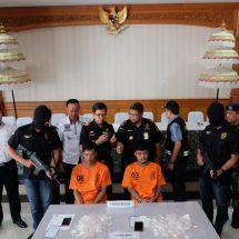 Bea Cukai Ngurah Rai Gagalkan Penyelundupan Narkoba Rp1,5 Miliar Oleh Dua Warga Thailand