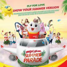Parade Musim Panas, Mega Sale Vietjet Siapkan Jutaan Tiket USD0