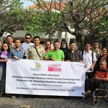 UNR Kawal Wujudkan Perda Perlindungan dan Pemenuhan Hak Penyandang Disabilitas di Badung