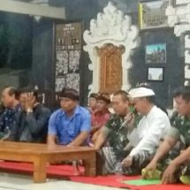 Kodim Tabanan Sosialisasikan TMMD Ke-106 di Desa Bongan