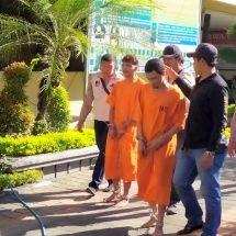 Polresta Denpasar Bekuk Dua Tahanan Kabur