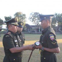 Danrindam Udayana Lantik 262 Bintara TNI AD TA. 2019