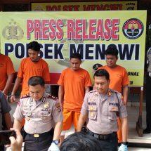 Komplotan Pencuri Jaringan Bali-Lombok Ditangkap Tim Gabungan