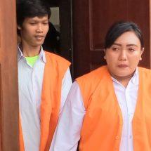 Pasangan Pembawa Sabu Dituntut 13 Tahun Penjara
