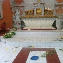 Polsek Dentim Periksa Pelaku Pengerusakan Gereja, Diduga Depresi