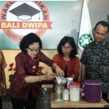 UBAD Terus Gali Produk Unggulan Lokal, Ini Segudang Manfaat Kefir Susu Sapi Bali