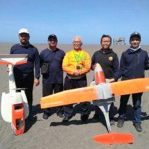 """UGM Kembangkan """"Drone Amphibi"""" untuk Monitoring Gunung Api"""